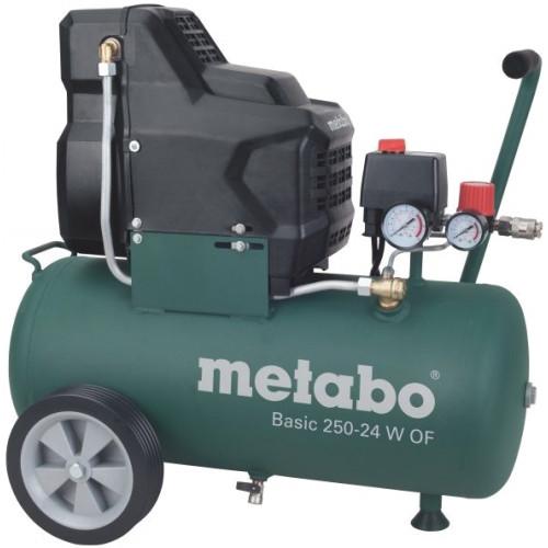 Поршневой безмасляный компрессор Metabo Basic 250-24 W OF (601532000)