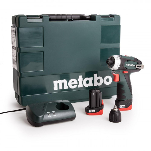 Аккумуляторный шуруповерт Metabo PowerMaxx BS Basic + кейс (600080500)