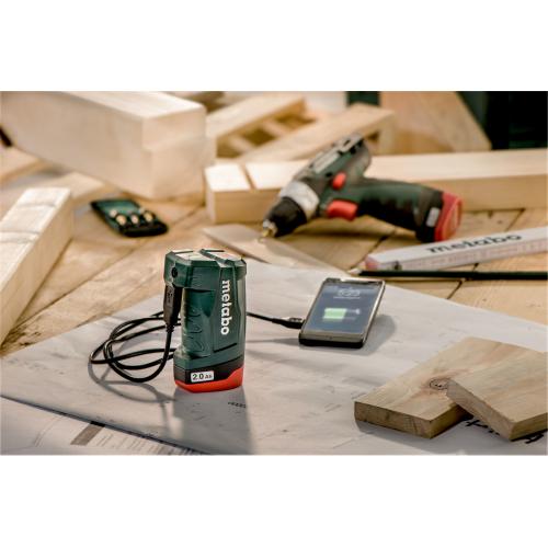 Зарядное устройство Metabo PowerMAXX PA 10.8 В (606212000)