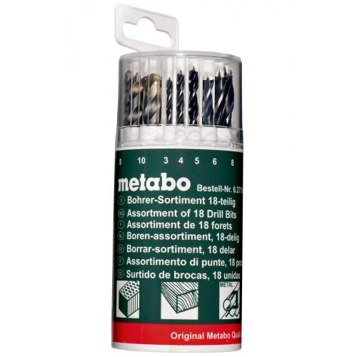 Набор сверл Metabo (3-10мм, 18 шт)