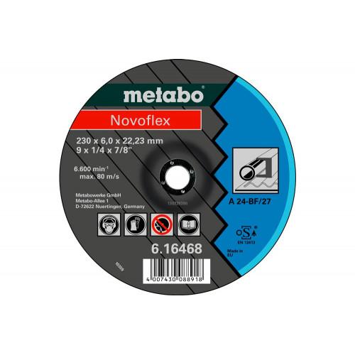 Круг зачистной Metabo Novoflex 150x6,0x22,23 сталь (616464000)