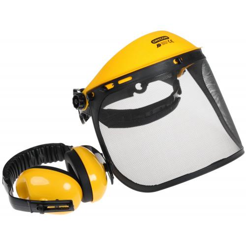 Наушники защитные противошумные Oregon 515061 с защитным экраном