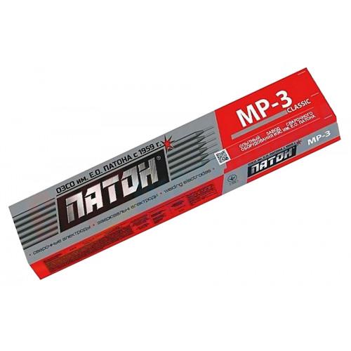 Электроды сварочные Патон MP-3, 350 мм, 3 мм, 5 кг