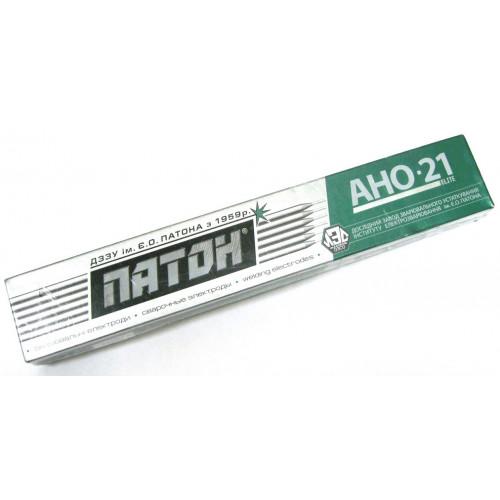 Электроды сварочные Патон АНО-21, 350 мм, 3 мм, 5 кг