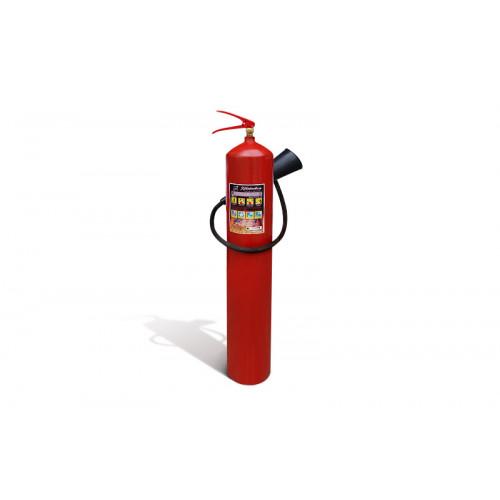 Огнетушитель углекислотный Пожтехника ОУ-7, 21В, 7 л