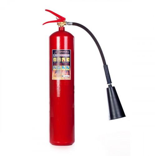 Огнетушитель углекислотный Пожтехника ОУ-5, 21В, 3.5 л