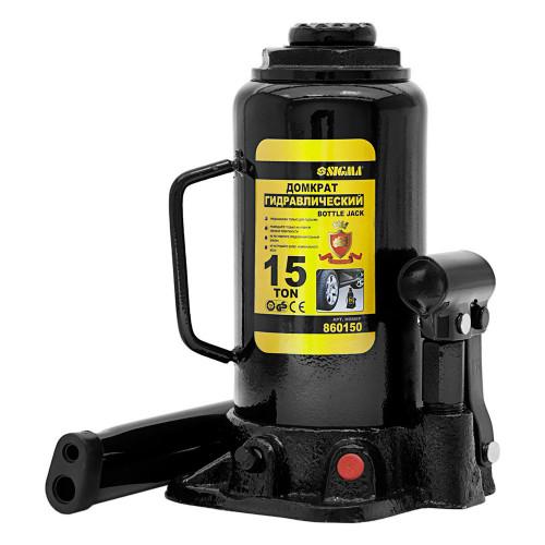 Домкрат бутылочный Sigma 6101151 гидравлический телескопический
