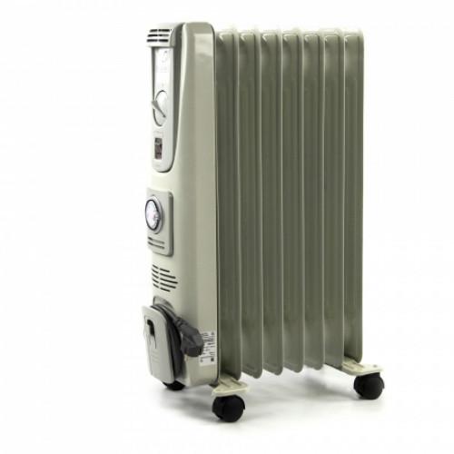 Масляный радиатор с таймером Термия 1,5 кВт 8 секций