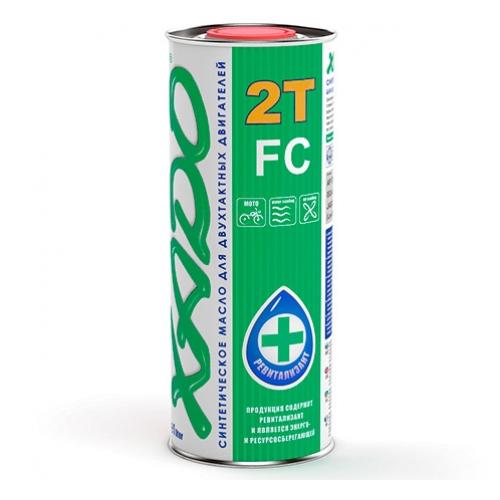 Масло для двухтактного двигателя XADO Atomic Oil 2T FC, 1 л