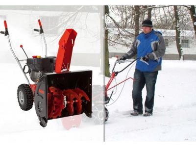 Как безопасно пользоваться бензиновым снегоуборщиком