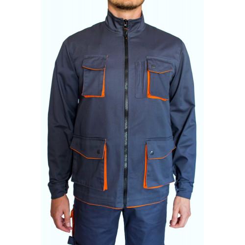 Куртка рабочая ARDON DEXTER (M-XL) серо-оранжевая