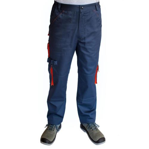 Брюки рабочие ARDON DEXTER (M-XL) серо-оранжевые