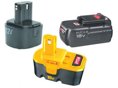 Разновидности батарей в аккумуляторных инструментах