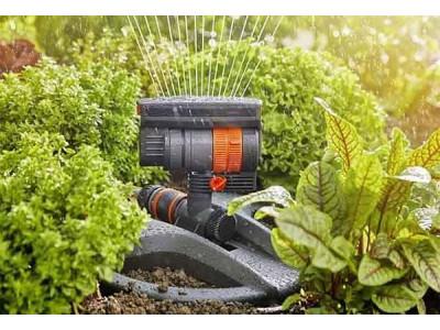 Типы дождевателей для полива газона