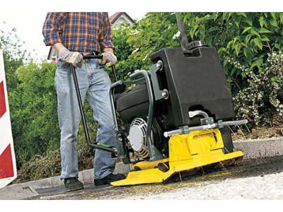 Виброоборудование для трамбовки строительных материалов
