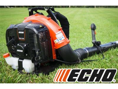 Воздуходувки ECHO – уберите траву и листья в саду на раз-два