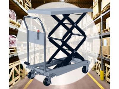 Оборудование для склада: грузоподъемные столы