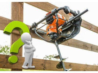 Какой мотобур лучше выбрать для земляных работ: советы специалистов