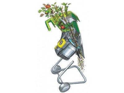 Измельчитель веток - незаменимый помощник садовода