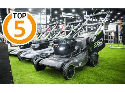 ТОП-5 хороших производителей газонокосилок