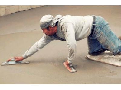 Затирочная машина – затираем бетонный пол правильно