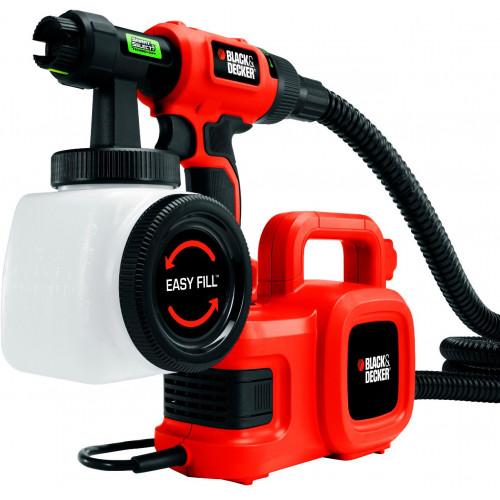 Краскопульт электрический Black+Decker HVLP400 (HVLP400)