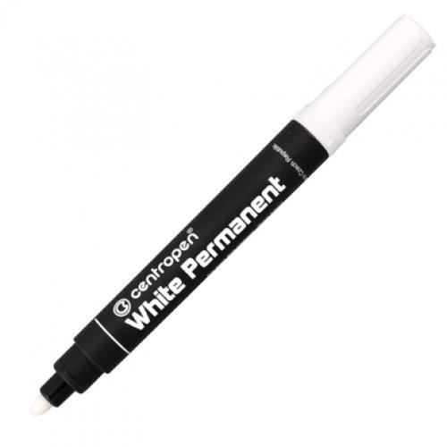 Маркер белый Centropen 8586