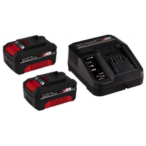 Аккумулятор + зарядное устройство Einhell 18V 2x3,0 Ач PXC-Starter-Kit (4512098)