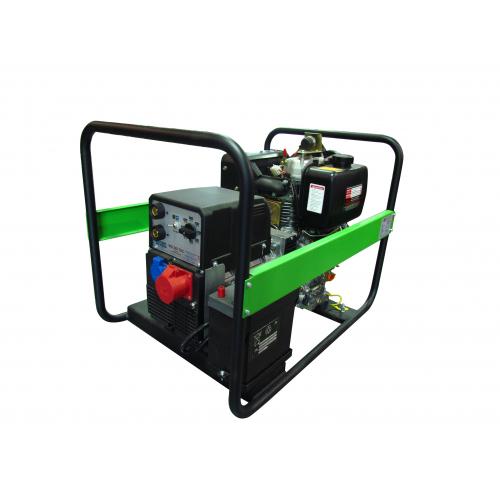 Генератор дизельный PEX-POOL PEX S220 KE со сварочным модулем (PEX S220 KE)