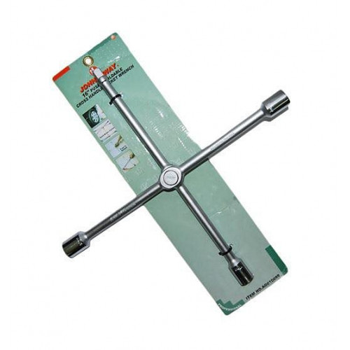 Ключ баллонный JONNESWAY AG010099 (крест) 17*19*21*22мм складной