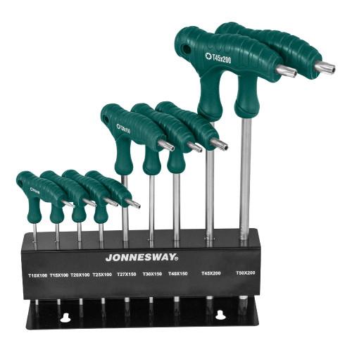 Набор ключей-звездочек Jonnesway H10MT09S TORX 9 ед.