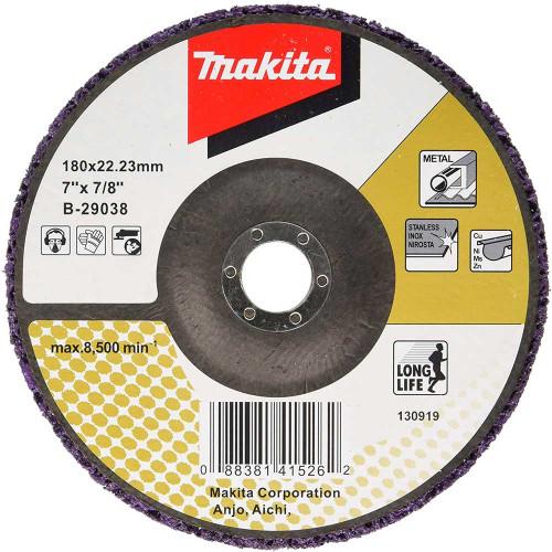 Круг зачистной Makita 180x22,2 пористый (B-29038)