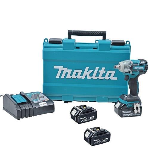 Аккумуляторный ударный гайковерт Makita DTW285RFE бесщёточный (DTW285RFE)