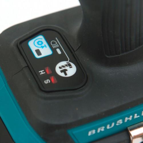 Аккумуляторный ударный гайковерт Makita DTW181Z бесщёточный каркас (DTW181Z)