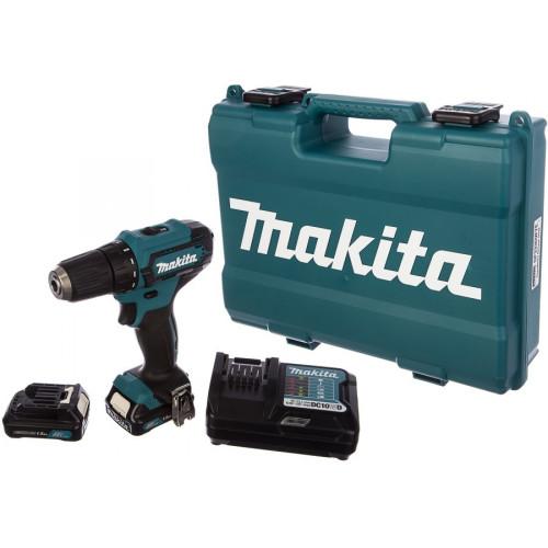 Аккумуляторный шуруповерт Makita DF333DWYE (DF333DWYE)