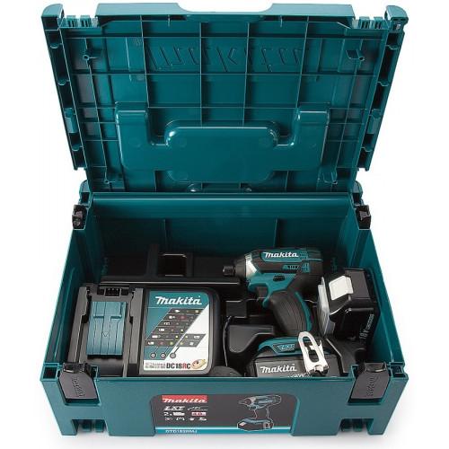 Аккумуляторный ударный гайковерт Makita DTD152RFE (DTD152RFE)