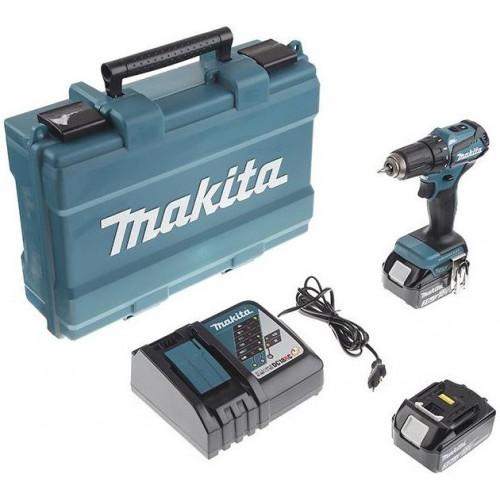 Аккумуляторный шуруповерт Makita DDF483RFE бесщёточный (DDF483RFE)