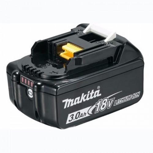 Аккумулятор Makita BL1830B 18В 3Ач (632G12-3)