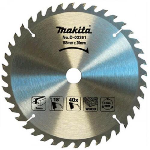 Диск пильный Makita ТСТ 165x20 мм  Z16 по дереву (D-52554)