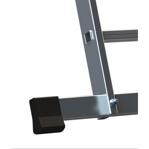 Лестница ELKOP VHR Hobby 2x11 алюминиевая, 2 секции, 11 ступеней