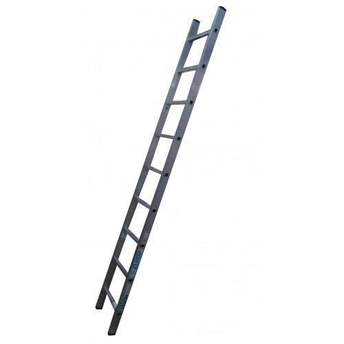 Лестница приставная ELKOP VHR Hobby 1x9 алюминиевая, 2427 мм