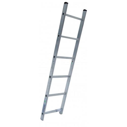 Лестница приставная ELKOP VHR Hobby 1x6 алюминиевая, 1647 мм