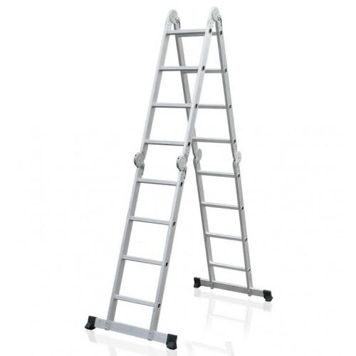 Лестница-трансформер ELKOP M 4x4 AL алюминиевая, 4.2 м