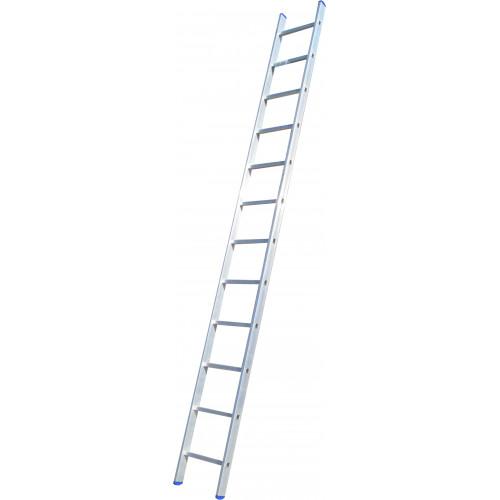 Лестница приставная ELKOP VHR Hobby 1x12 алюминиевая, 3207 мм