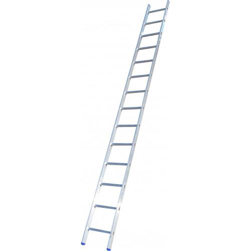 Лестница приставная ELKOP VHR Hobby 1x14 алюминиевая, 3727 мм