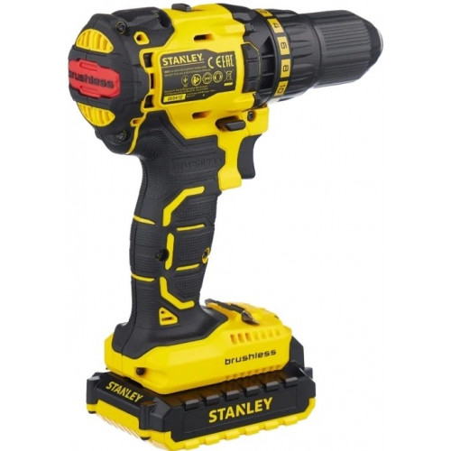 Аккумуляторный шуруповерт Stanley SBD20D2K бесщёточный (SBD20D2K)