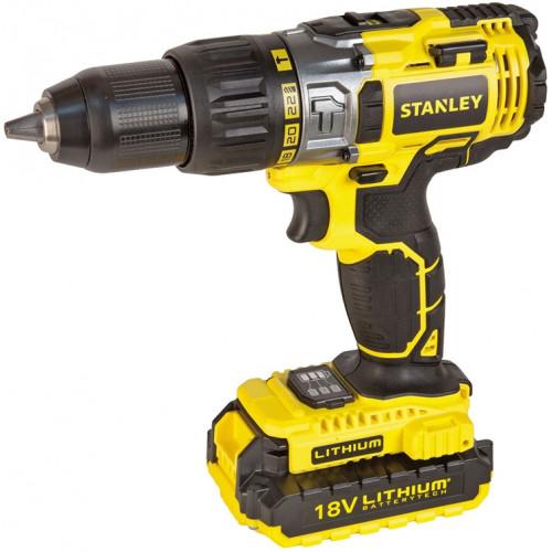 Акумуляторний ударний шурупокрут Stanley STDC18LHBK (STDC18LHBK)