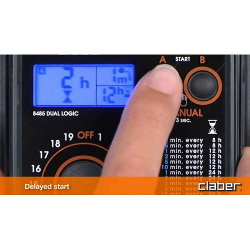 Таймер подачи воды Claber DUAL LOGIC 8485