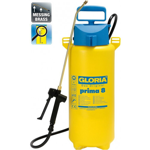 Опрыскиватель Gloria Prima 8, 8 л