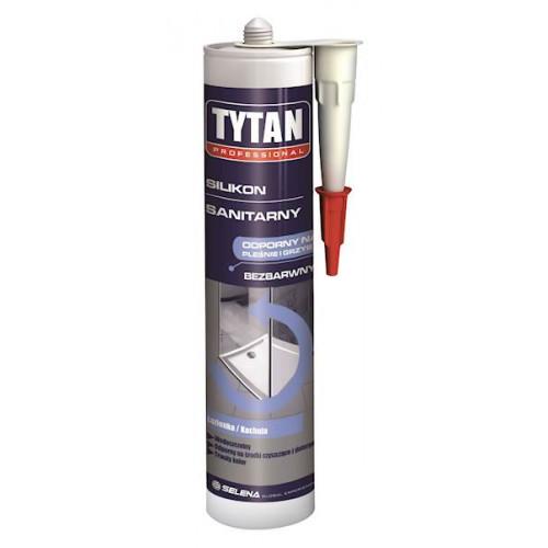 Герметик TYTAN 310мл силикон санитарный прозрачный